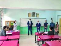 Kaymakam Karakaş'tan Okul Ziyaretleri