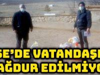 KÖSE'DE VATANDAŞLAR MAĞDUR EDİLMİYOR