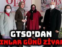 GTSO'DAN KADINLAR GÜNÜ ZİYARETİ