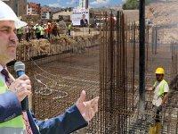 Başkan Çimen'in Mutlu Günü  İLK HARÇ TÖRENLE ATILDI