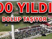Tarihi Kadırga Yaylası Camii ilgi Odağı Olmayı Sürdürüyor  600 YILDIR DOLUP TAŞIYOR