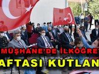 GÜMÜŞHANE'DE İLKÖĞRETİM HAFTASI KUTLANDI