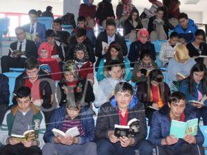 Dünyada 3 Ülke'de Türkiye'de 40 ilde Aynı Anda Kitap Okudular