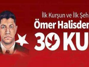"ÖMER HALİSDEMİR ANISINA ""30 KUŞ"""